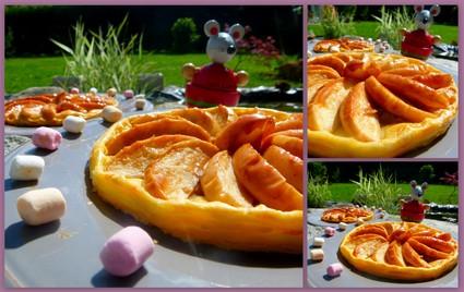 Recette de tartelettes aux pommes, noix et confiture de lait