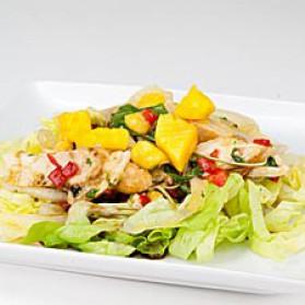Salade de poulet et mangues pour 4 personnes