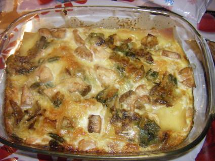 Recette lasagnes de saumon aux poireaux (lasagne)