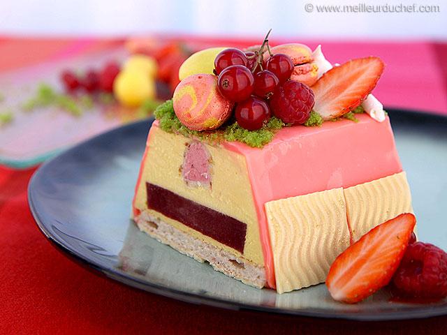 Gâteau d'anniversaire aux fruits  notre recette illustrée ...