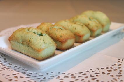 Recette financiers à la pistache (muffin dessert)