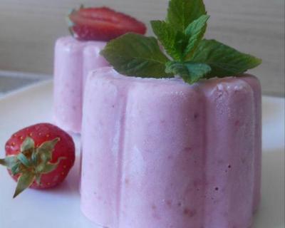 Recette glace à la fraise ( sans sorbetière)