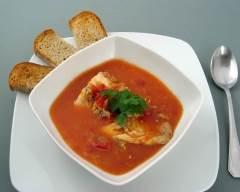 Soupe de palourdes et poisson à l'orange pauvre en sel | cuisine az