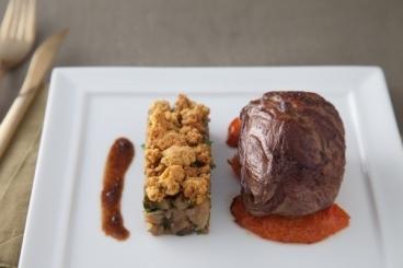 Recette de gigotin d'agneau aux tomates semi-confites, mitonnée d ...