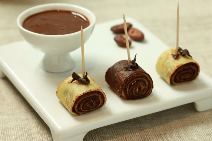 Recette de crêpes roulées au nutella maison facile et rapide