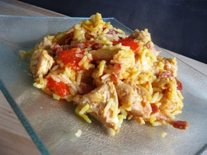 Recette de marmite de poulet au riz à l'espagnol