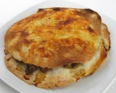 Millefeuille de boeuf, chili et tortillas pauvre en sel | cuisine az