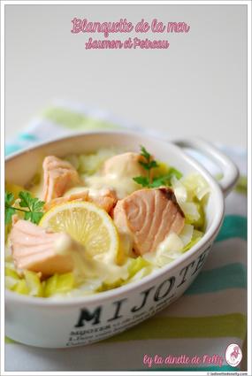 Recette de blanquette de la mer au saumon et poireau