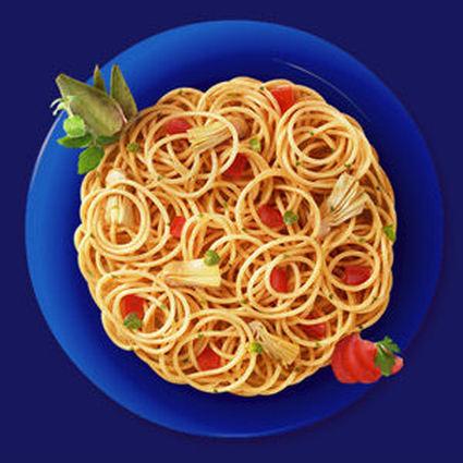 Recette de spaghetti integrali aux coeurs d'artichauts et tomates ...