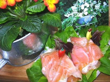 Recette de pannequets de saumon