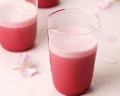 Recette smoothie framboise cerise