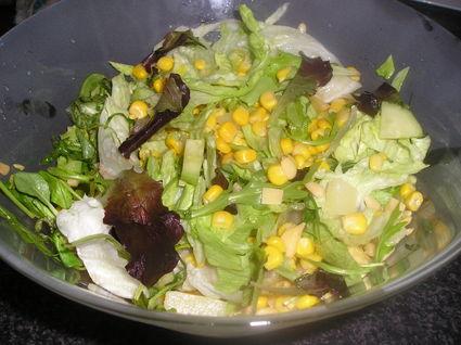 Recette de salade iceberg printaniere