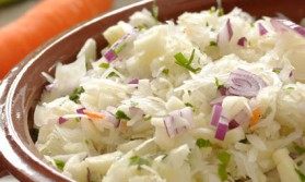 Salade de chou pour 4 personnes