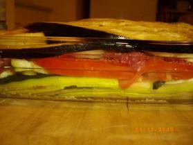Gratin aux légumes du soleil et kefta pour 4 personnes