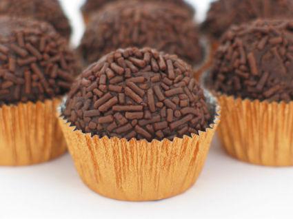 Recette de truffes au chocolat (brigadeiros)