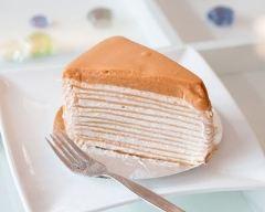 Recette gâteau de crêpes au caramel facile