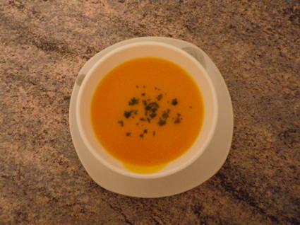 Recette velouté aux carottes (cake salé)
