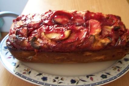 Recette de gâteau aux pommes nappé de gelée de groseilles