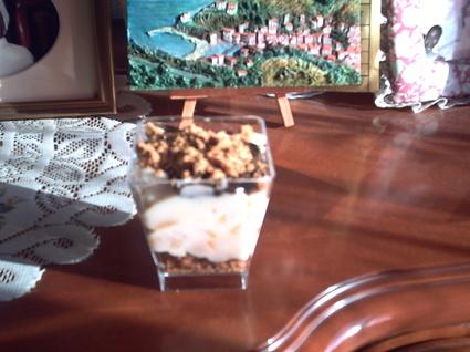 Recette de verrines poires, mascarpone et chocolat