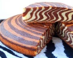 Recette gâteau tigré ou zebré