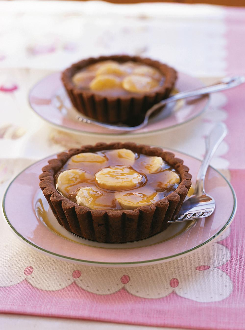 Tartelettes au sirop d'érable et aux bananes   ricardo
