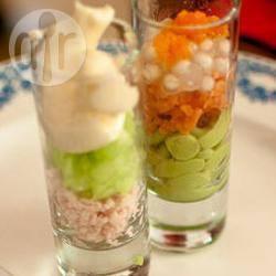 Recette duo de verrines – toutes les recettes allrecipes