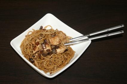 Recette de nouilles chinoises aux oignons