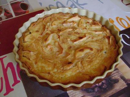 Recette de tarte paysanne à la crème