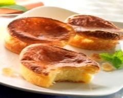 Recette minicakes au fromage de chèvre frais en faisselle