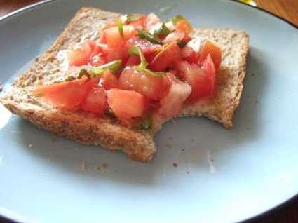 Recette de pan con tomate