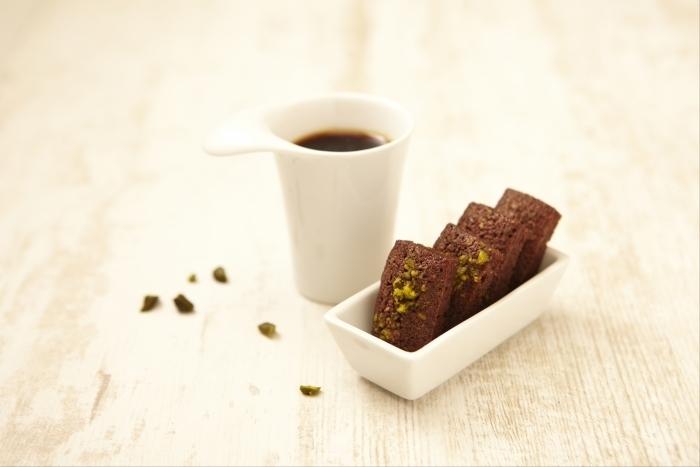 Recette de financier cacao et pistache facile et rapide
