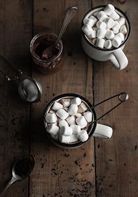 Chocolat chaud au thé noir & au nutella md