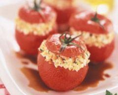 Recette tomates farcies à la brique de chèvre