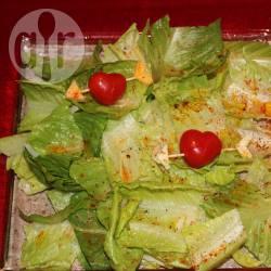 Recette salade verte pour la saint
