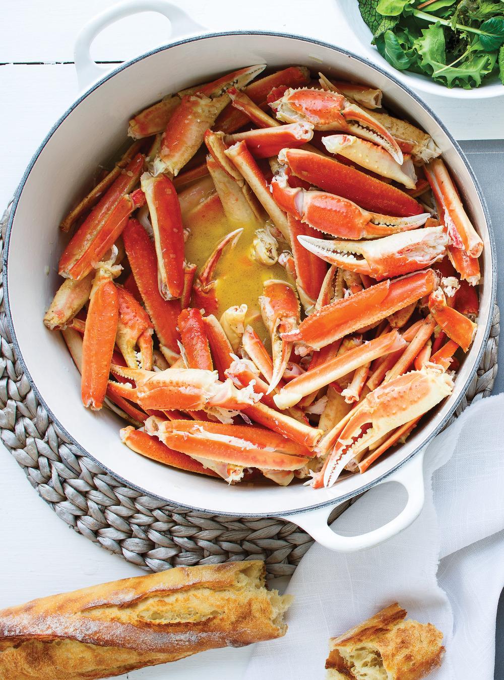 Crabe chaud au beurre | ricardo