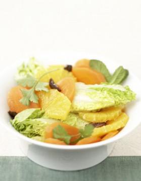 Salade de carottes à l'orange pour 4 personnes