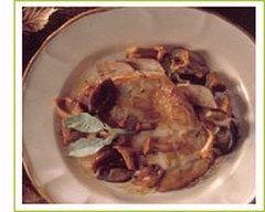 Recette escalopes de dinde aux champignons des bois