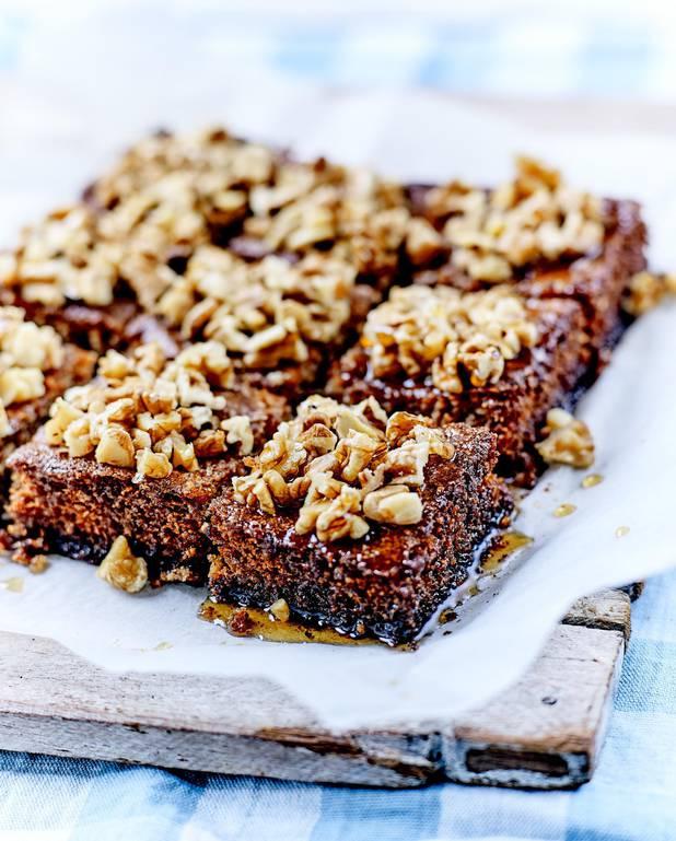 Karidopita ou gâteau aux noix crétois pour 6 personnes