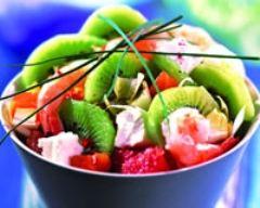 Recette salade nordique aux kiwis