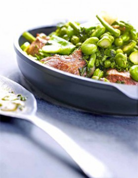 Navarin d'agneau aux petits légumes verts pour 4 ...