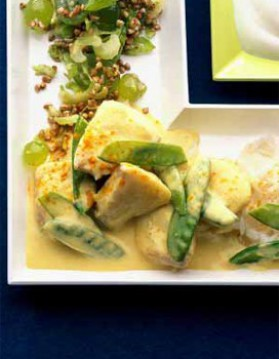 Curry de poisson thaï pour 4 personnes