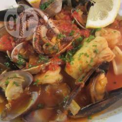 Recette soupe de poisson et fruits de mer à l'italienne – toutes les ...