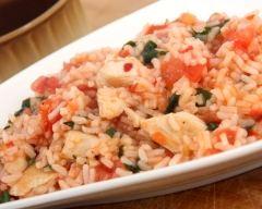 Recette risotto aux blancs de poulet et herbes de provences