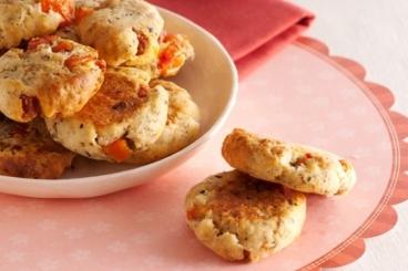 Recette de cookies à la tomate séchée et au chorizo facile et rapide