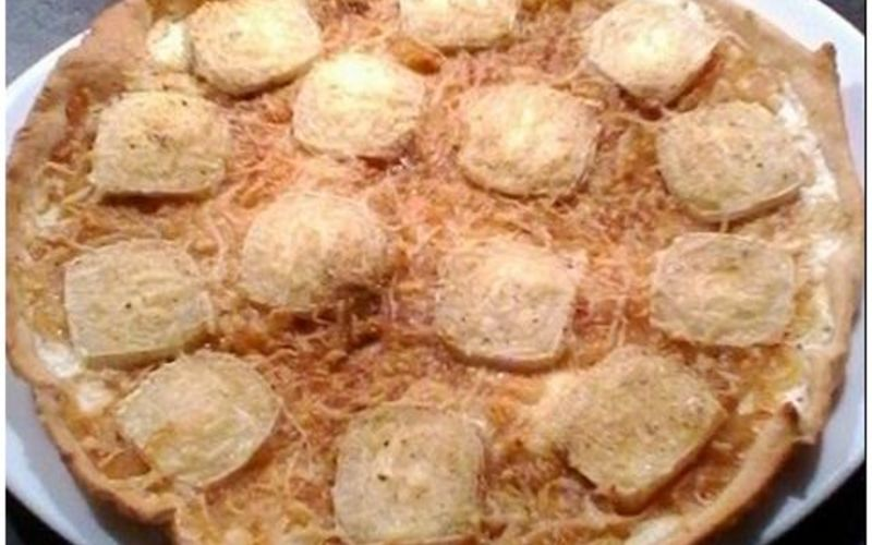 Recette tarte fine chèvre/miel économique > cuisine étudiant