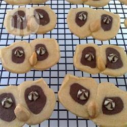 Recette biscuit au chocolat. tête de hibou. halloween – toutes les ...