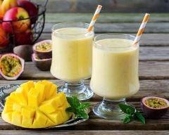 Recette milkshake mangue-passion