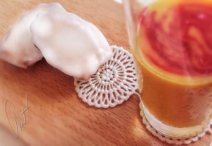 Recette de madeleines glacées à la fleur d'oranger et smoothie ...