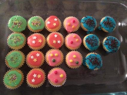 Recette de cupcakes glacage royal