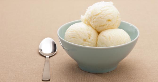 Recette de crème glacée diététique à la noix de coco